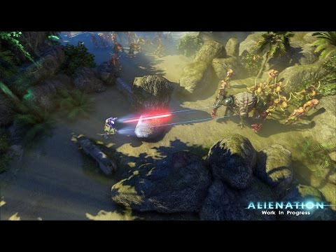 Watch Co-Op Footage From Alienation, a PS4-Exclusive From Resogun Developer