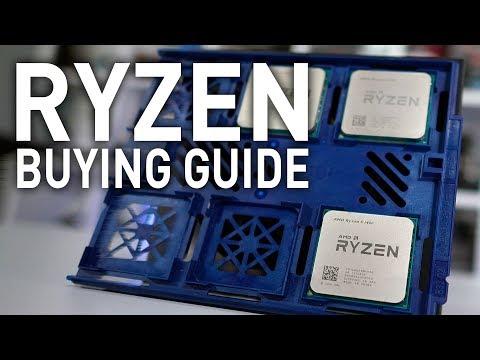 Ryzen Buying Guide: R7 1700 vs. R5 1600 vs. R5 1400