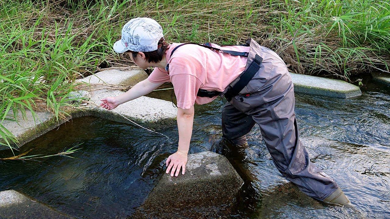 罠をしかける女。3ヶ月間、幻の魚を追い続けたら…。【釣り車中泊&N-VAN女子旅】