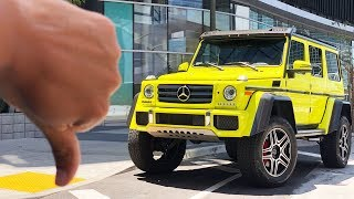 THE MERCEDES 4X4 IS ONE OF THE WORST I'VE EVER DRIVEN! WORTH $250K? 😂