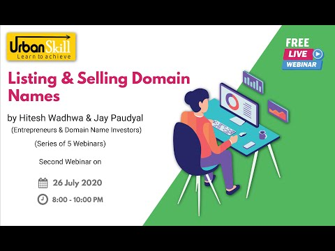 Listing and Selling Domain Names -(26th July 2020)