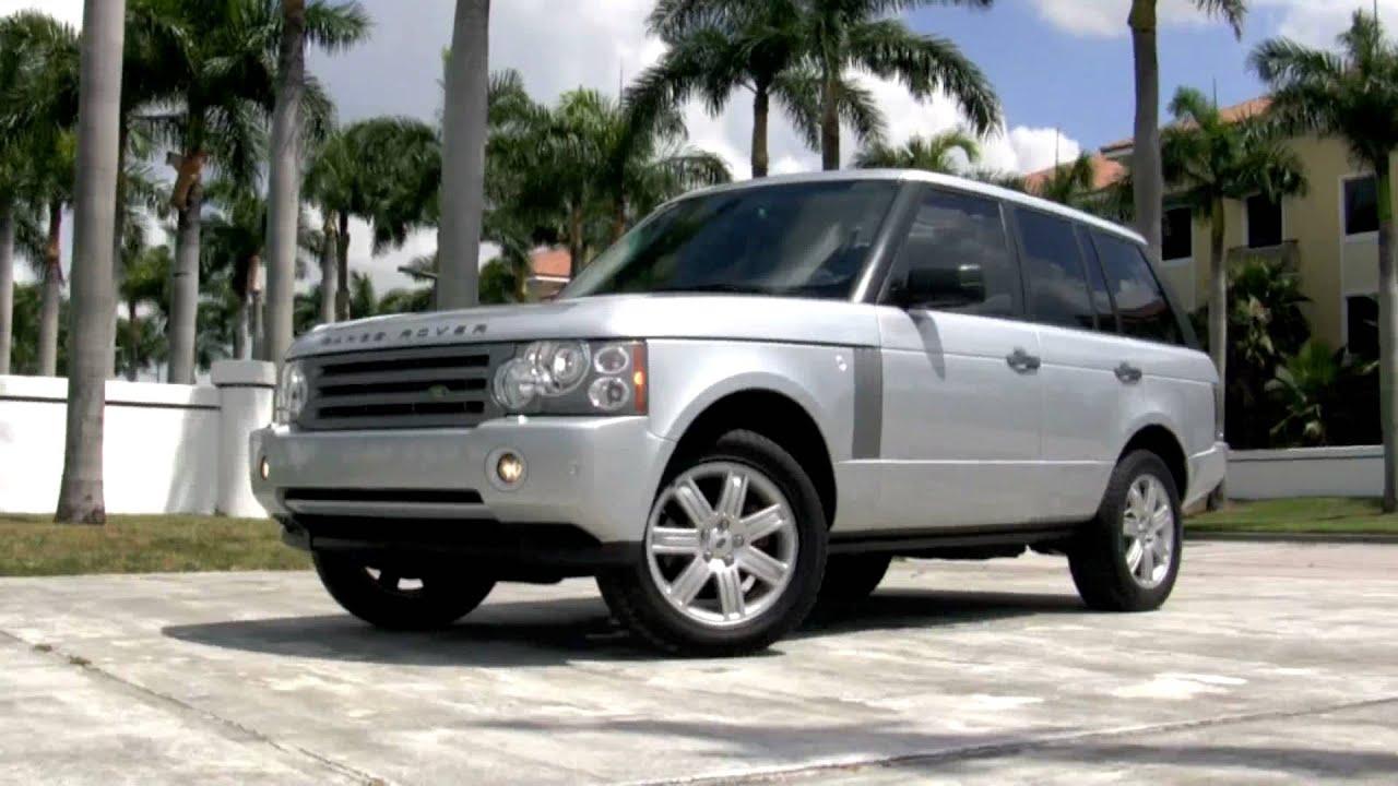 2008 Land Rover Range Rover HSE Silver A2553