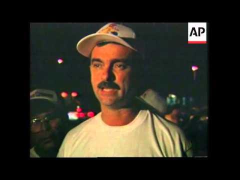 USA: MIAMI: CUBAN EXILE GROUP SET SAIL FOR DEMONSTRATION NEAR CUBA