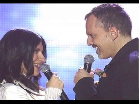 Laura Pausini y Miguel Bosé