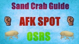 Sand Crab Guide 2007 / Location Afk Combat Training Spot Oldschool Runescape (OSRS)