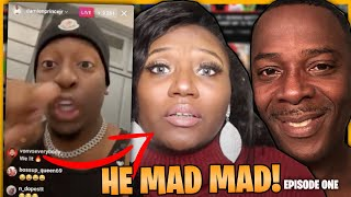 damien prince Drags Baby Mama OVER THIS!... (WHAT REALLY HAPPEN)