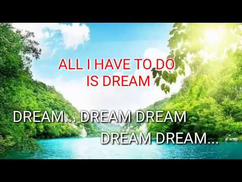 All I Have To Do Is Dream (Lyrics)