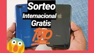 SORTEO internacional 2 IPHONE XS y 1 HONNOR 10 (GANATELOS)