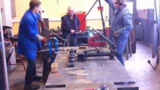 Construction Char A Voile Partie 1