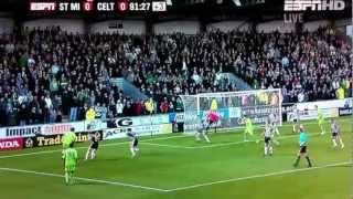 Gary Hooper score LATE winner against St Mirren