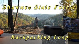 Ohio Hiking-Backpacking Shawnee State Forest, Little Smokies of Ohio