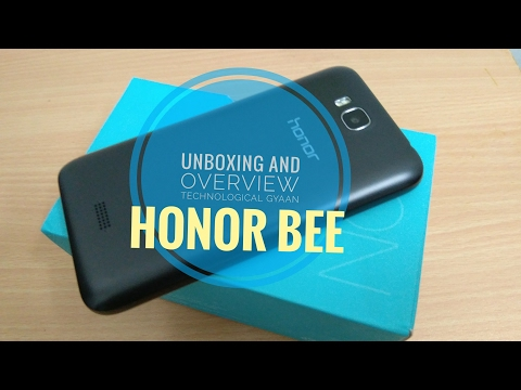 [hindi] Honor bee unboxing and overview by abhinav parbat