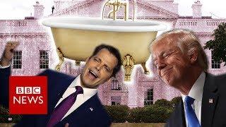 The Mooch, Trump and a gold-plated bathtub - BBC News