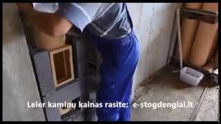 Kaminas LEIER, apie gamintoją, mūryjimo, montavimo instrukcija (lenkų k.) | e-Stogdengiai.lt