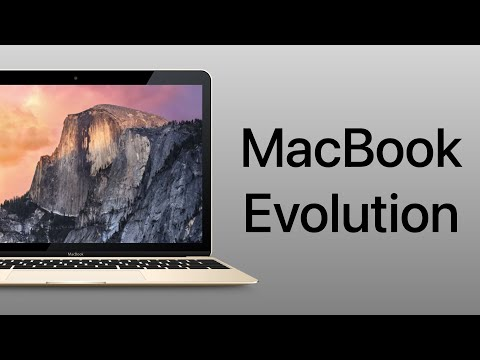 Evolution of Apples Consumer Laptops