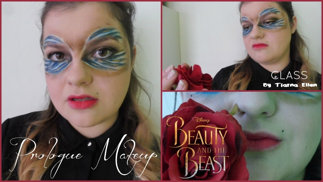Disneys Beauty And The Beast Prince Prologue Makeup Dan Stevens