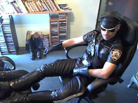 Bulge cop gay sexy policeman strait first 3