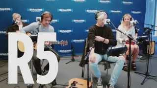 "R5 ""Rather Be"" Clean Bandit Cover Live @ SiriusXM // Hits 1"