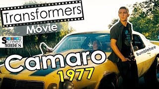 Bumblebee Chevrolet Camaro Z28 Transformers movie 2007 Shia LaBeouf and Megan Fox