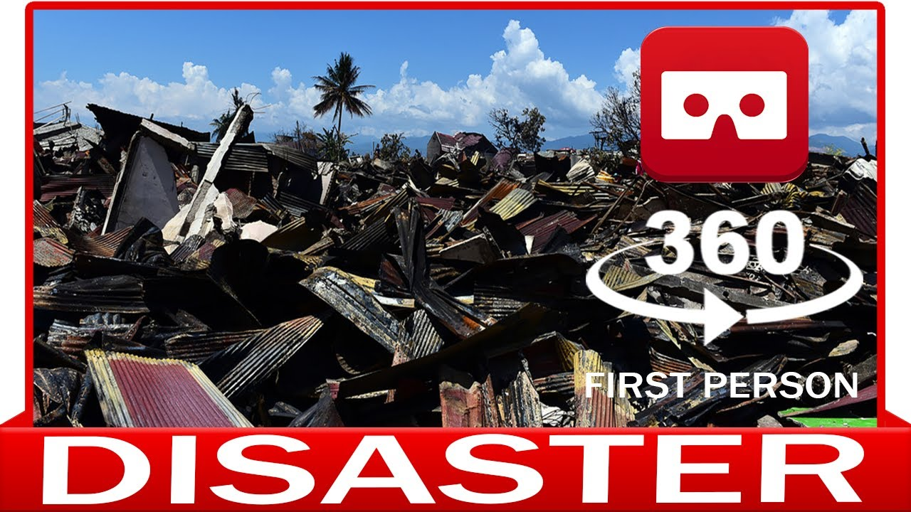 360° VR VIDEO - Disaster In First Person - VIRTUAL REALITY 3D