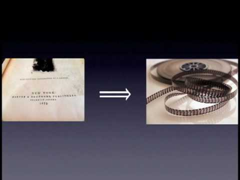 """Lawrence Lessig on the Google Book Search Settlement - """"Static goods, dynamic bads"""""""