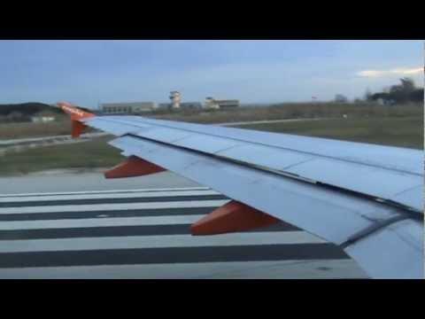 ✈ easyJet | Take Off Barcelona El Prat | 5th january 2012 | A319-111 G-EZDE