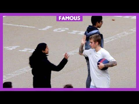 'Justin Bieber kan heel goed voetballen'