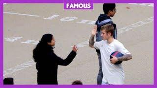 'Justin Bieber kan heel goed voetballen' thumbnail