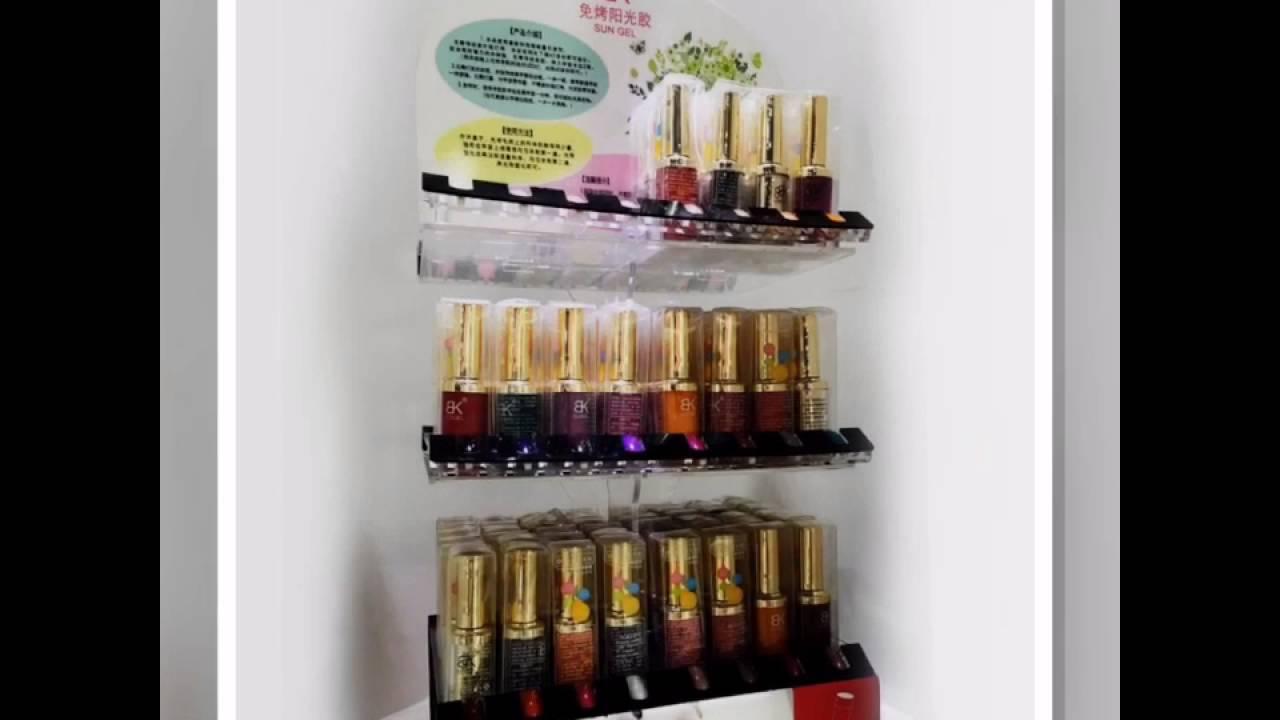 Acrylic nail polish display stand | manufacturer of nail polish ...