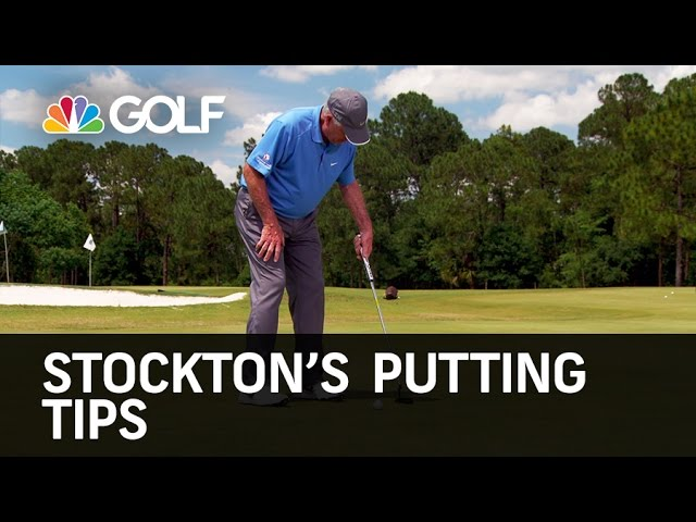 Stockton's Putting Tips - Golf Channel Academy   Golf Channel