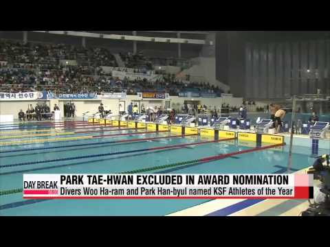 Park Tae-hwan to be removed from Korean Swimming Federation award nomination   박