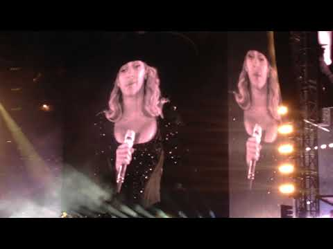 Beyoncé - Formation (Intro) The Formation World Tour New York 6/8/2016