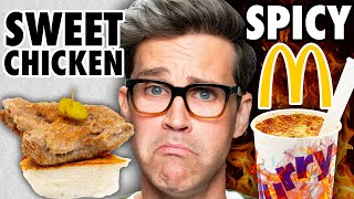Sweet Spicy Food vs. Spicy Sweet Food Taste Test Video