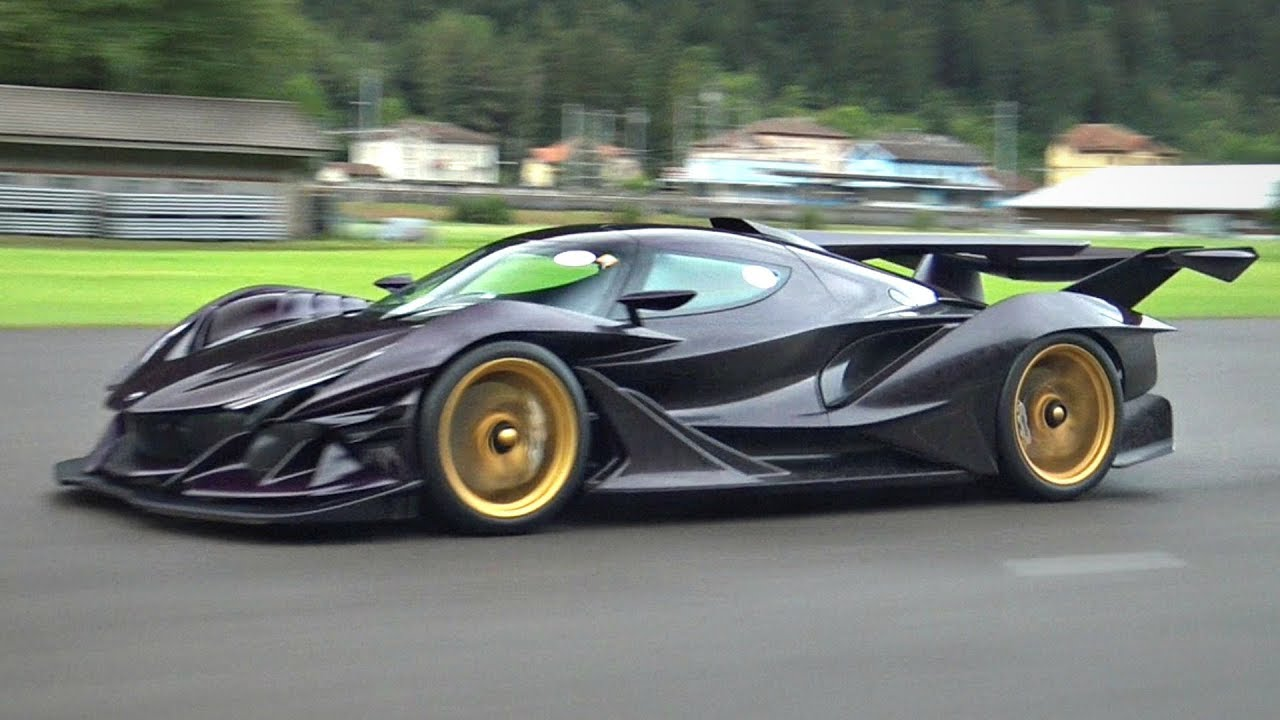 Apollo Ie Unleashes Its 780hp V12 On An Empty Runway Incredible Sounds