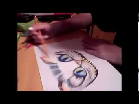 speed art 1. cheshire cat