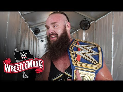 Braun Strowman Takes In His Universal Title Win At WrestleMania: WWE Exclusive, April 4, 2020