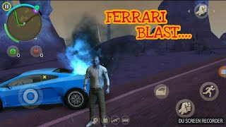 gaming with SS || gangster vages Ferrari blast ||