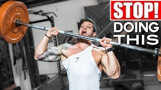 STOP TRAINING LIKE THIS! Top 5 Most Common Workout Mistakes & Fixes