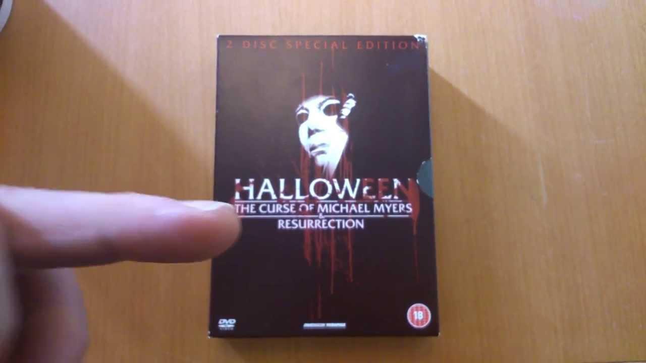 Halloween Dvd Box Set.2 Disc Special Edition Halloween Curse Resurrection Dvd Boxset