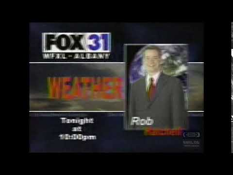 WFXL Fox 31 | Weather | Bumper | 2003 | Albany Georgia