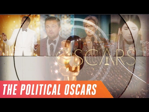 A history of Oscars speeches as political protest