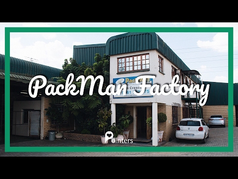 Packman factory — Johannesburg | DRONE FOOTAGE | Pointers Travel