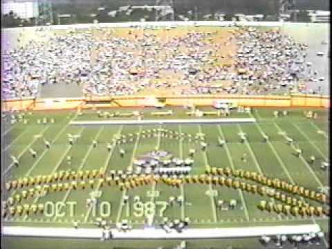 ECU Marching Pirates - October 10, 1987