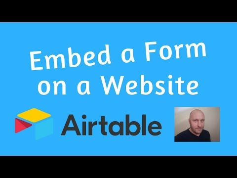 How to Embed an Airtable Form on Your Website