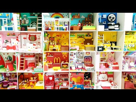 27 DIY Miniature Room Collection !!