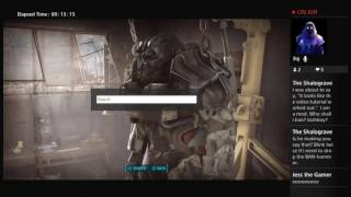 FALLOUT 4 MODS ON PS4 LIVE STREAM EPISODE 1