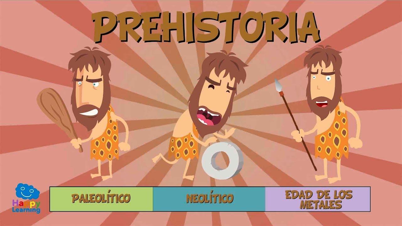 La Prehistoria Para Niños Vídeos Educativos Para Niños