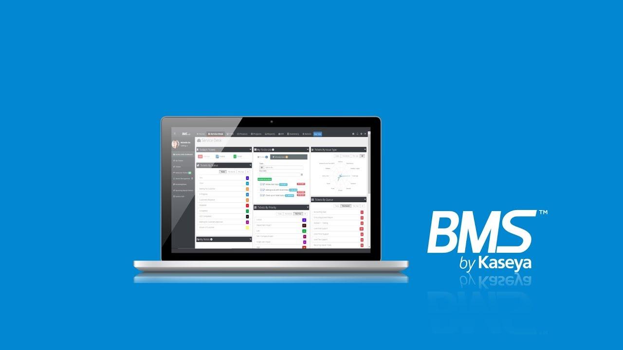 PSA Software for MSPs - IT Business Management | Kaseya BMS