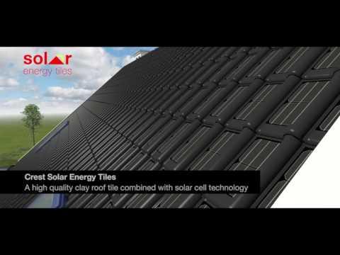 Crest Solar Energy tiles