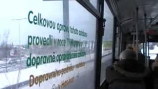 Jízda autobusem na lince 219 v úseku K Hájům - Mototechna